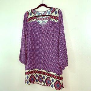Umgee long sleeve dress size S!